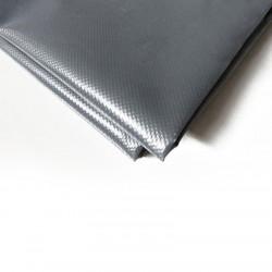 Bâche Pergola 8x12 m - Ultra résistante - Etanche - Anti-UV - Fabrication française - Grise - Œillets